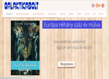 Galaktikabolt.hu webáruház készítés