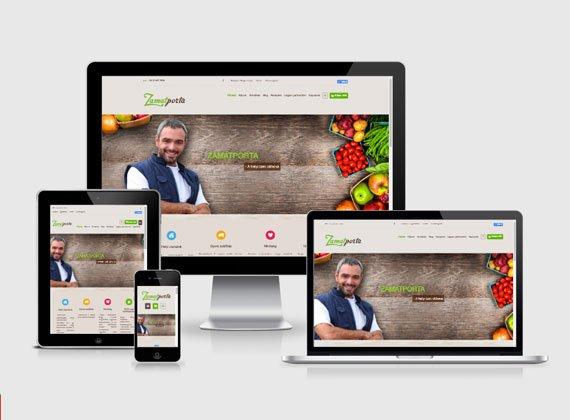 Zamatporta.hu webshop készítés