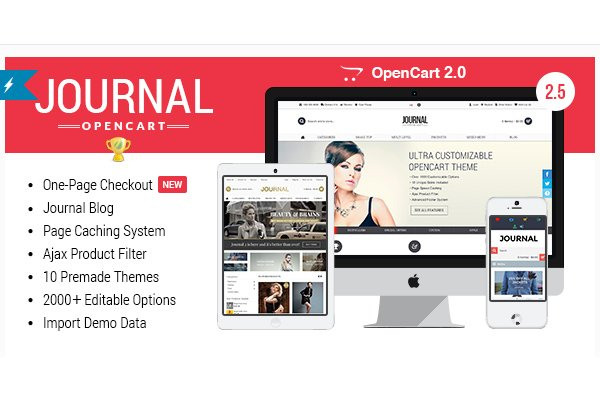 Journal webáruház készítés