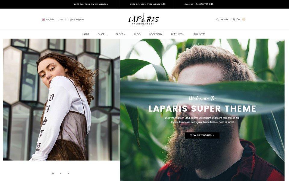 ruházati webshop design